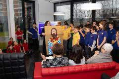 Učenici Savremene škole nacrtali Svetog Savu