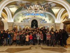 Osnovci Savremene škole posetili Hram Sveti Sava