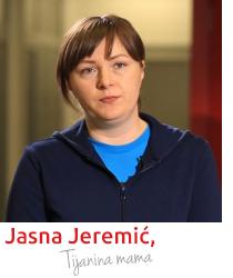Jasna Jeremić, Tijanina mama