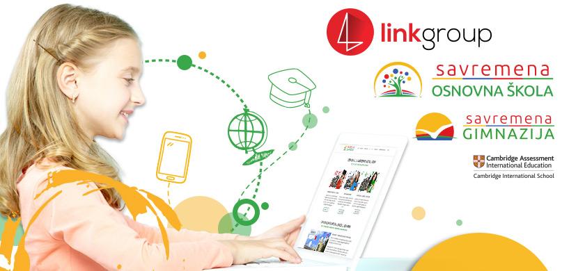 Savremena je deo najsavremenijeg obrazovno sistema Link Edu Alliance