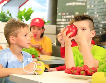 Školski restoran za zdravu ishranu