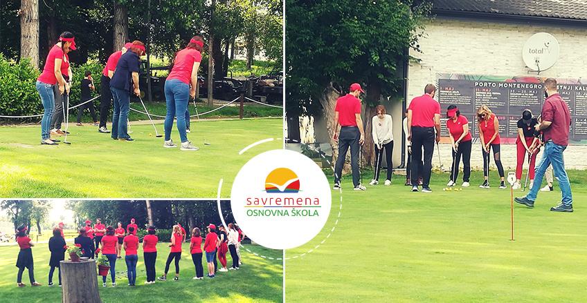 Dame Savremene osnovne škole i gimnazije obeležile Svetski dan ženskog golfa