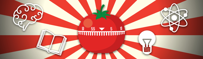 Ilustracija kuhinjskog tajmera u obliku paradajza