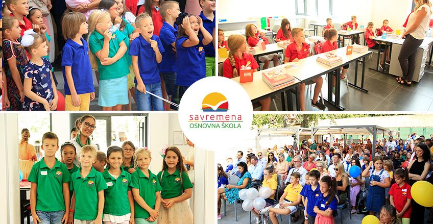 Dan koji smo svi čekali je došao: Počela sa radom Savremena osnovna škola