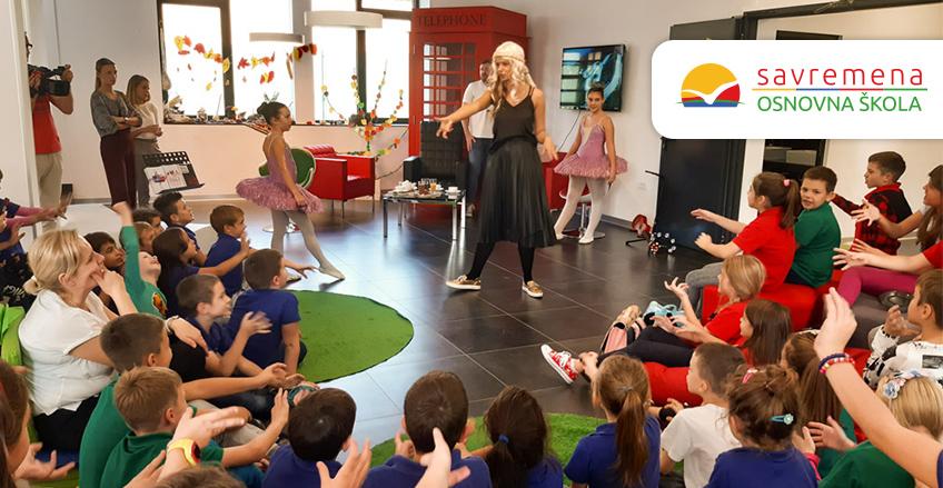 """Osnovci u svetu glume – interaktivna predstava """"Alisa u zemlji umetnosti"""""""
