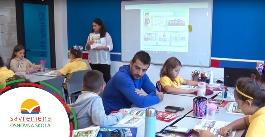 Na času sa školarcima: Roditelji oduševljeni nastavom u Savremenoj