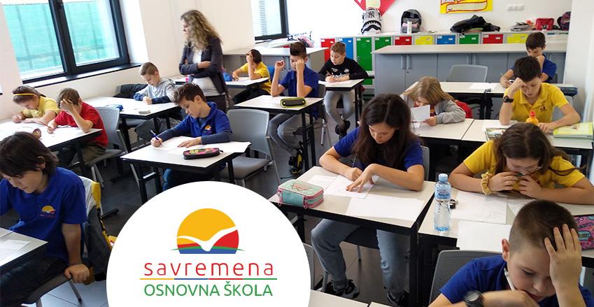 Takmičarski duh: Održano prvo školsko takmičenje iz matematike