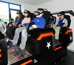 Učenici isprobali 9D VR Starship