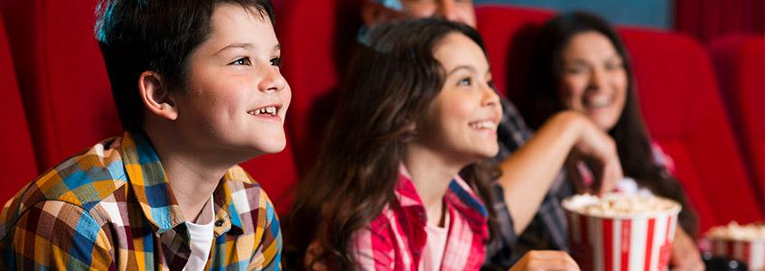 Deca gledaju film