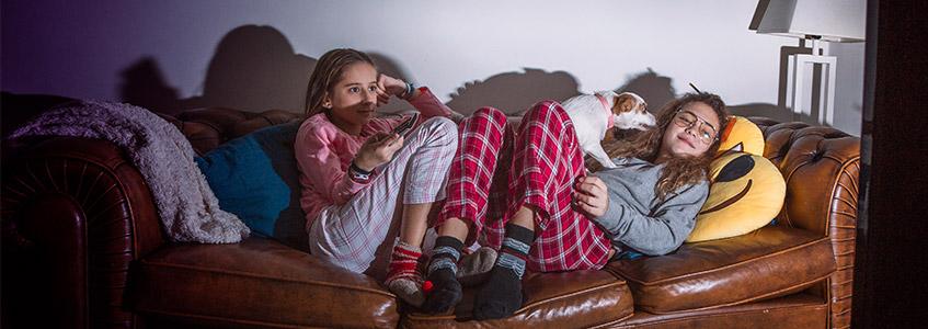 Pidžama žurka na zimskom raspustu