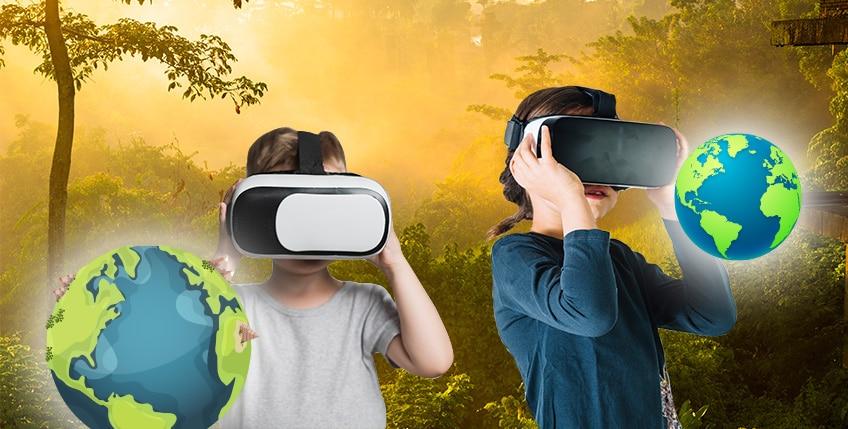 Djaci uče geografiju uz pomoć virtuelne realnosti