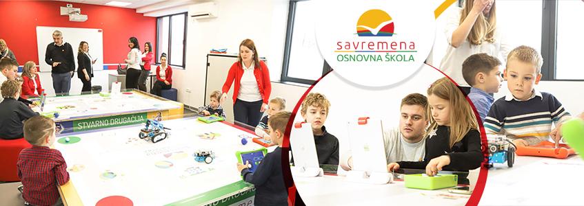 Deca zaposlenih u školi