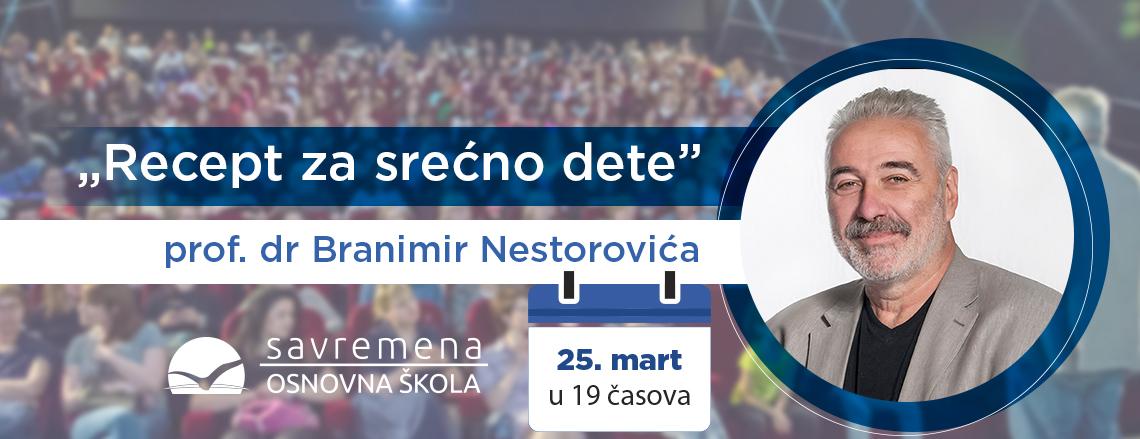 Predavanje dr Nestorovića