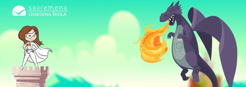 Bajka o zmaju KOVID19