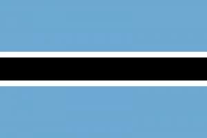 Bocvana zastava