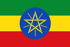 Etiopija zastava