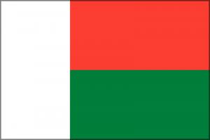 Madagaskar zastava