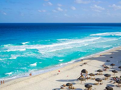 Plaža u Meksiku