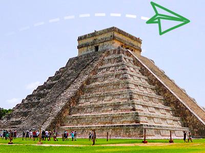 Piramide u Meksiku
