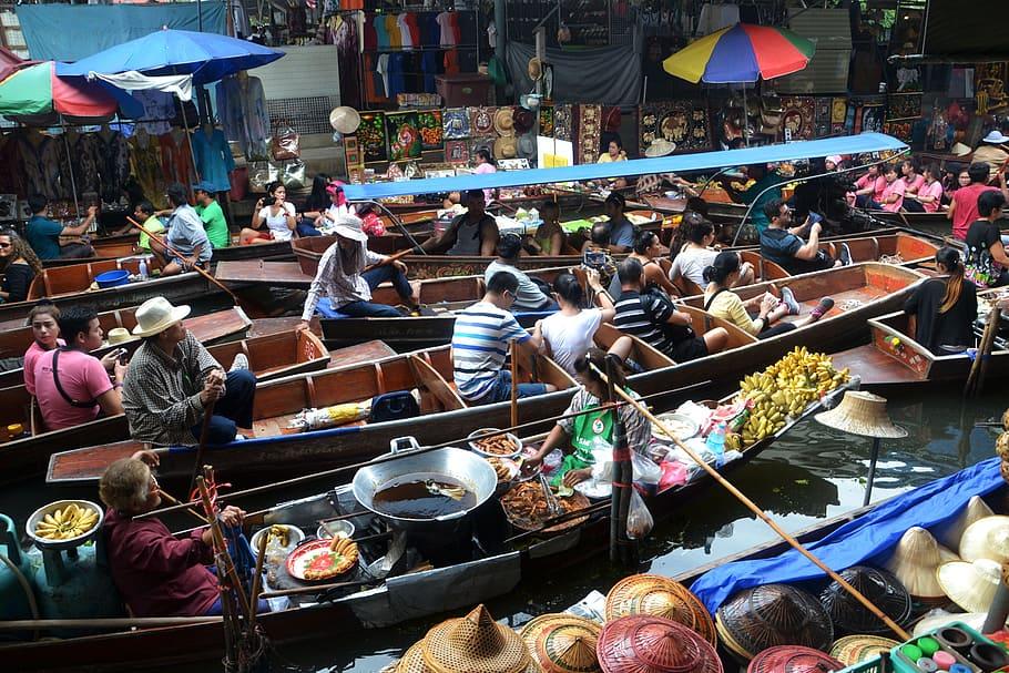 Ploveća pijaca u Bankoku