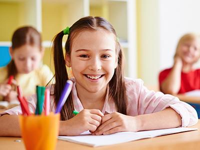 dete sluša čas matematike