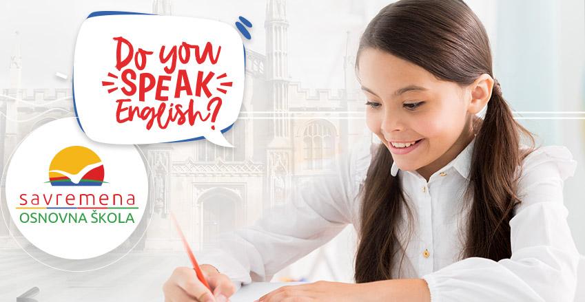 dete radi domaći zadatak iz engleskog