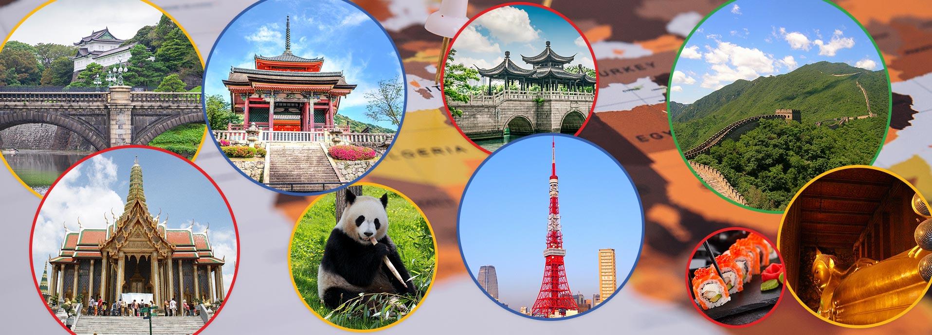 Azija popodne: Japan, Kina, Tajland