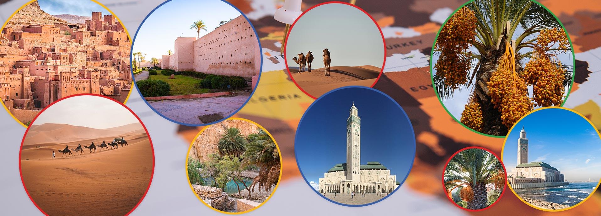 Maroko, Alžir i Tunis