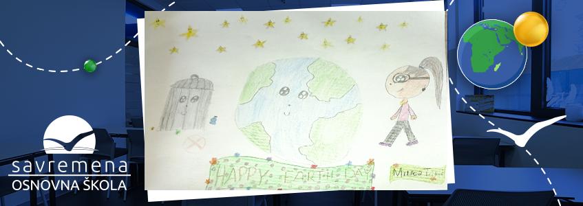 umetnički rad o planeti Zemlji