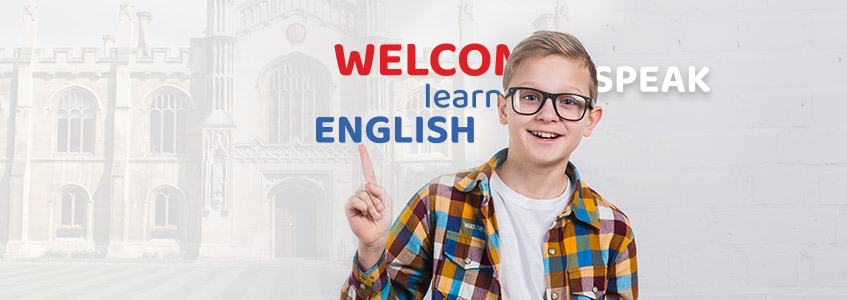 učenik objašnjava reči engleskog jezika