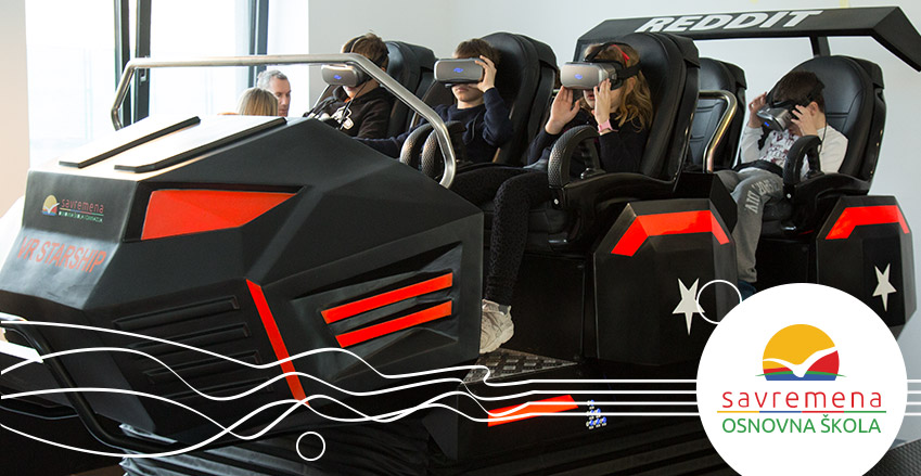 VR starship u Savremenoj osnovnoj školi
