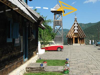 Drvengrad na Mećavniku
