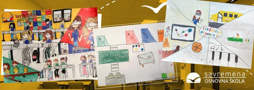 Likovni radovi za Dan škole