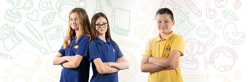 Školska uniforma za starije osnovce