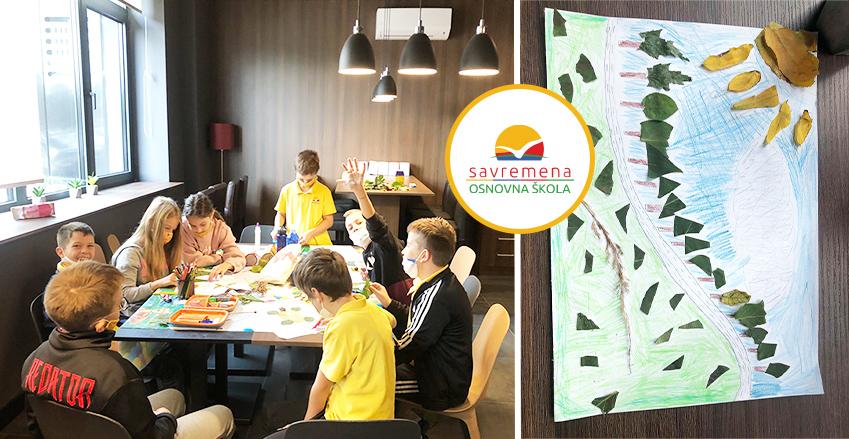Jesenja kolekcija u Savremenoj osnovnoj školi budi energiju i dobre ideje