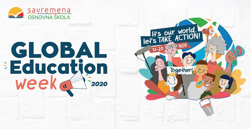 Global education week u Savremenoj – vreme je za istraživačke zadatke