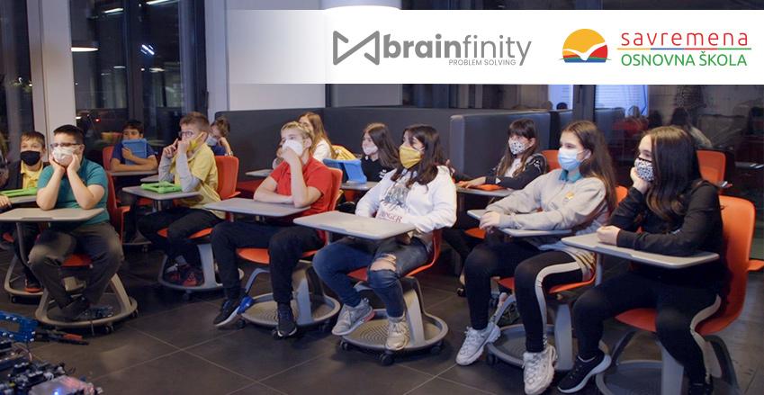 Savremena osnovna škola zvanično postala Brainfinity Problem Solving School