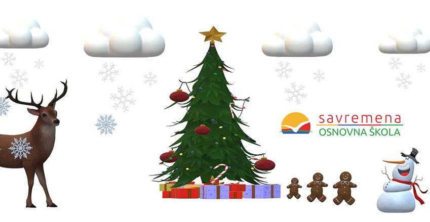 Neka vam je srećno i radosno – novogodišnje želje na dečjim, digitalnim čestitkama