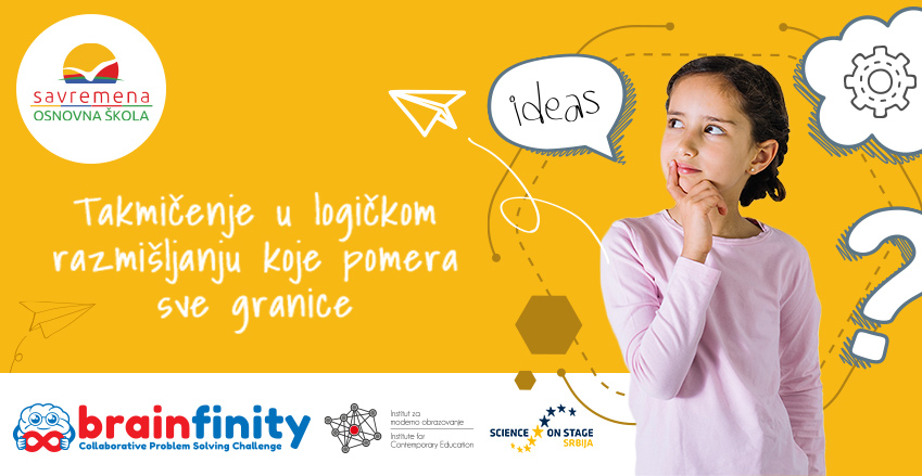 Brainfinity takmičenje u problem solvingu kao velika inspiracija za savremene osnovce
