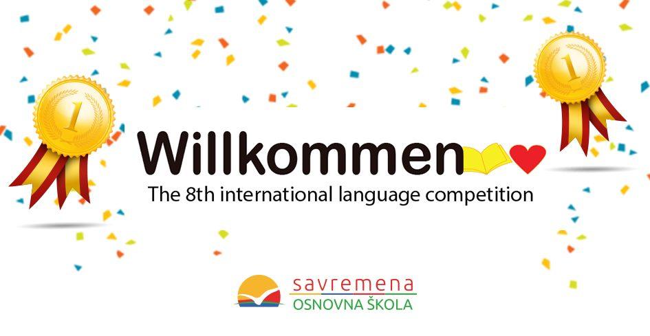 """Savremeni učenici briljirali na takmičenju iz stranih jezika """"Willkommen"""""""