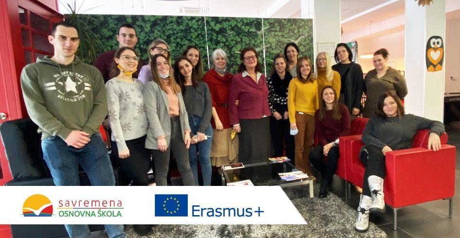 Kreiranje Erasmus+ projekata kao garancija kontinuirane moderne edukacije