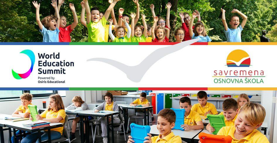 Na vrhu sveta: Savremena osnovna škola na najvećem obrazovnom događaju godine kao jedan od najboljih primera svetskog školstva